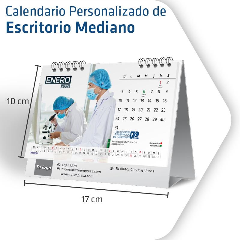 Calendarios Personalizados Mediano