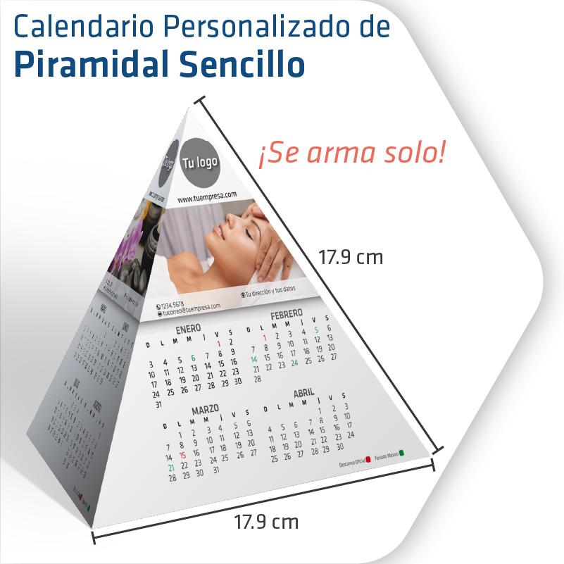 Calendarios Personalizados Piramidal