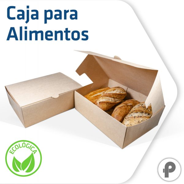 Caja para alimentos