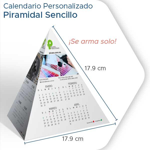 Calendarios Personalizados 2022 piramidal